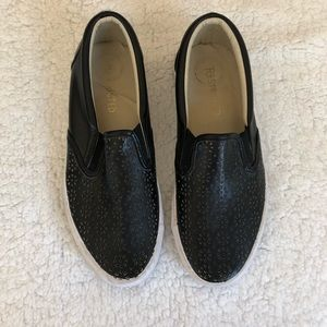 DSW Black slip on shoes